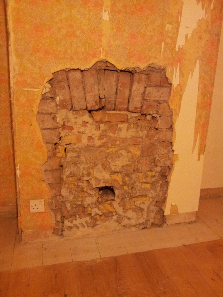 Repair Brick Arch Or Fit Lintel And Knock Out Fireplace