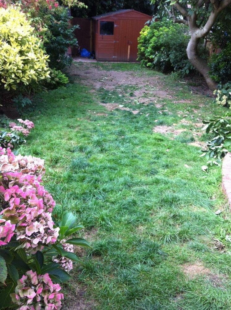 Gardening Preparing Soil For New Turf - Landscape Gardening Job In Watford Hertfordshire ...