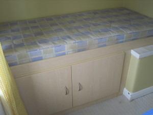 Build Single Bed Over Stair Head Bulk Head Joinery