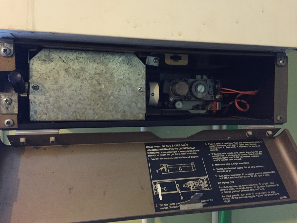 Boiler repair - Glow worm Space-saver MK II - Central Heating job in ...