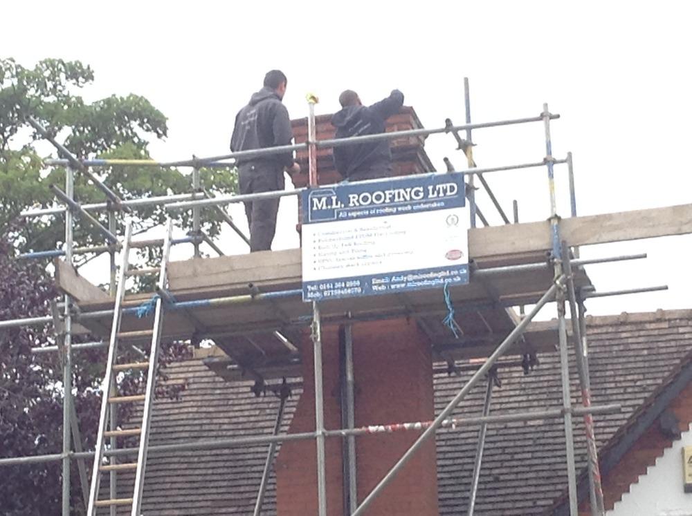 Mlroofing Ltd 100 Feedback Pitched Roofer Flat Roofer