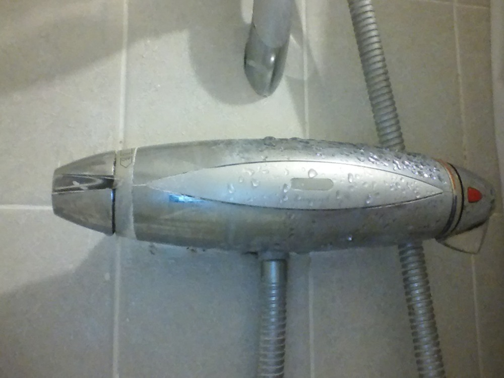 repair or replace leaking aqualisa shower plumbing job in abbey