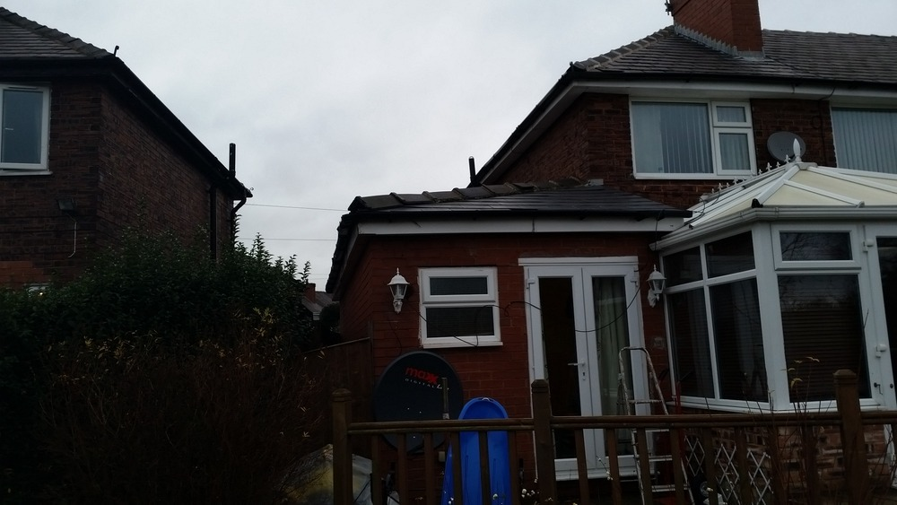 extension roof need fix it - Roofing (Flat) job in Wigan ...