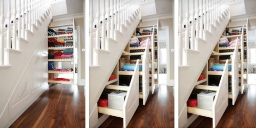 Bespoke Under Stairs Shelving: Joinery & Cabinet Making