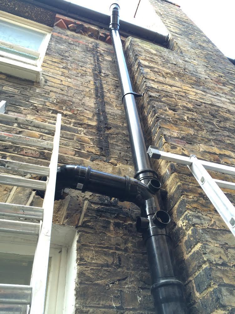 Fluid solutions plumbing heating ltd 100 feedback for Outside waste pipe
