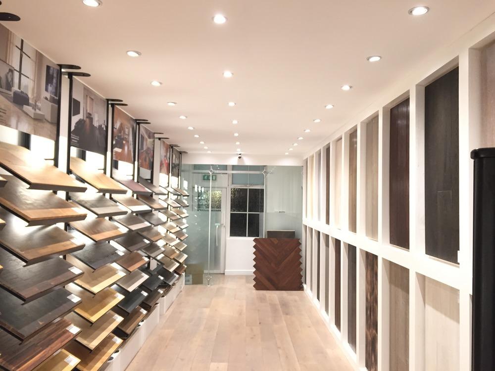Wood flooring showrooms gurus floor for Hardwood floor showroom