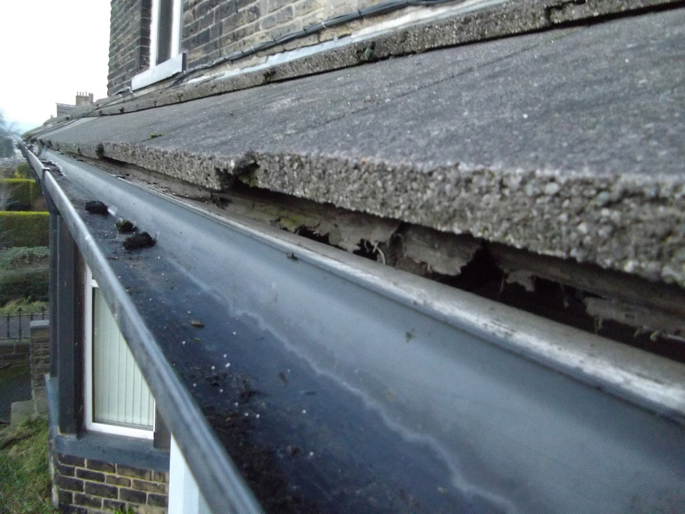 Replace Gutter And Install Drip Edge Flashing Roofing