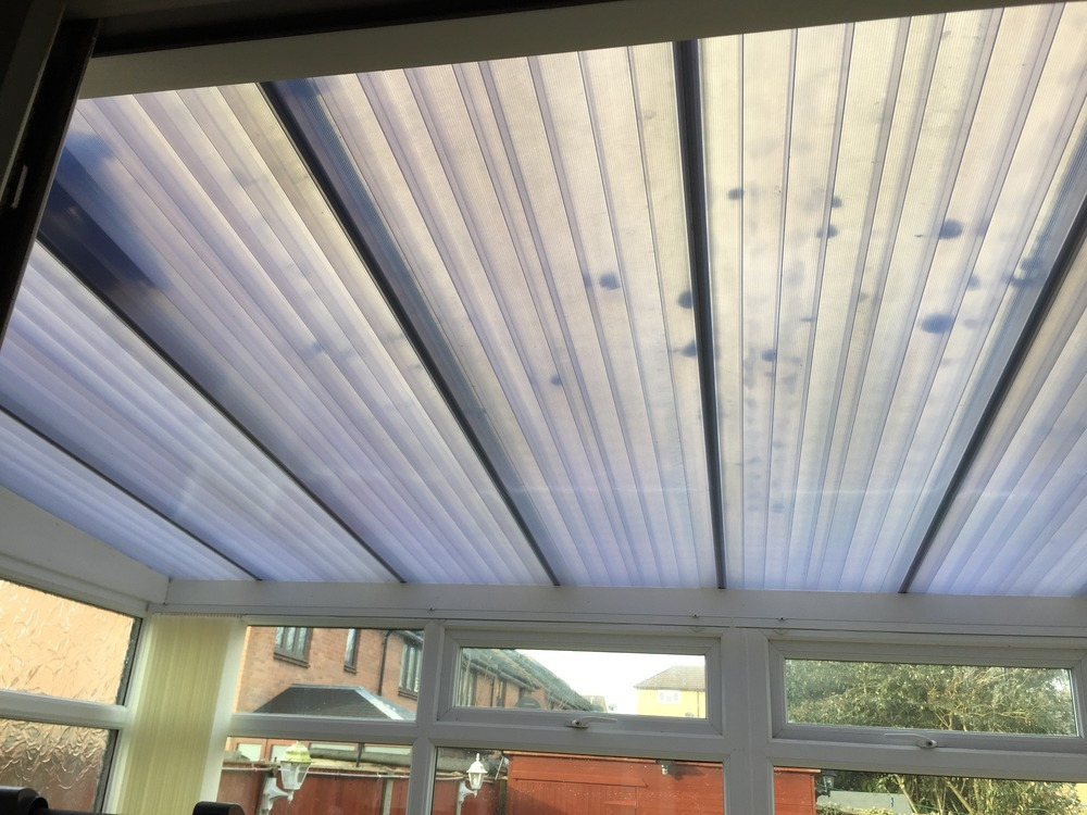 Conservatories Polycarbonate Roof Replacement