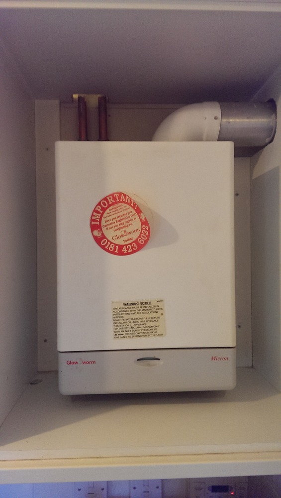 Replace Glow Worm Micron 60ff Central Heating Job In
