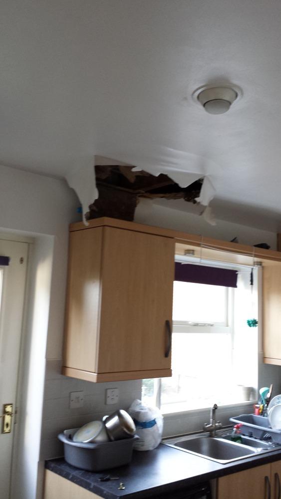 Plaster Ceiling Kitchen Fitting Job In Leeds West Yorkshire Mybuilder