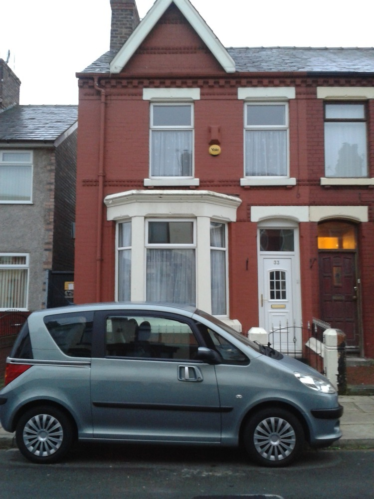 Painting The Exterior Of My End Terraced House Painting Decorating Job In Liverpool