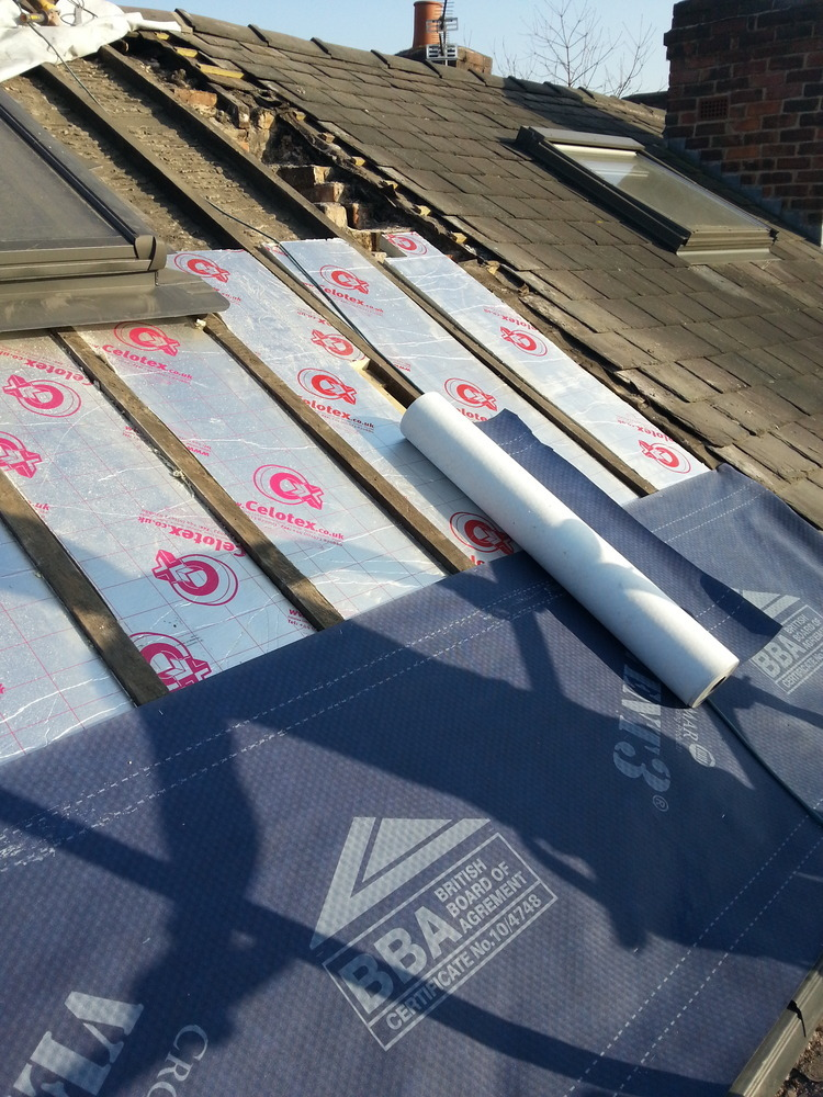 Stockport Construction 99 Feedback Pitched Roofer Flat