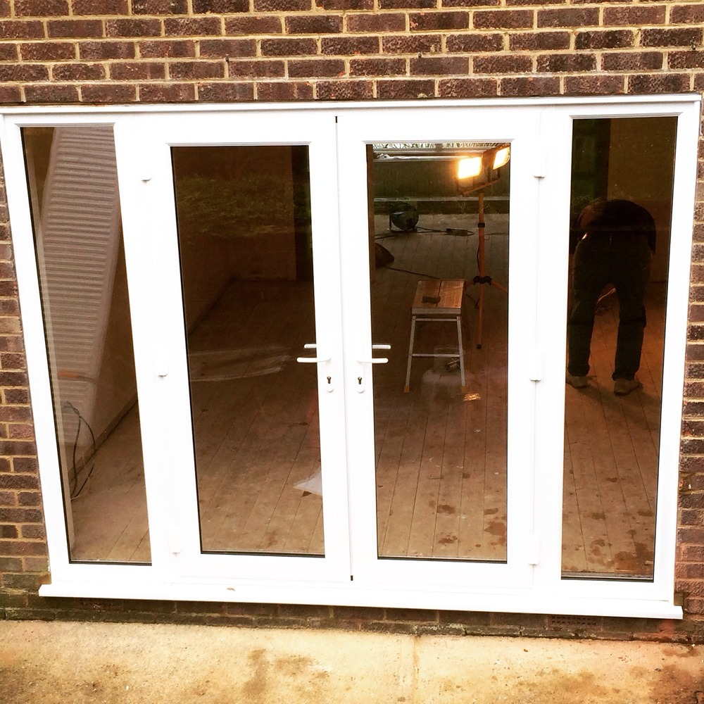 Apple glazing ltd 100 feedback window fitter for Upvc french doors with top light