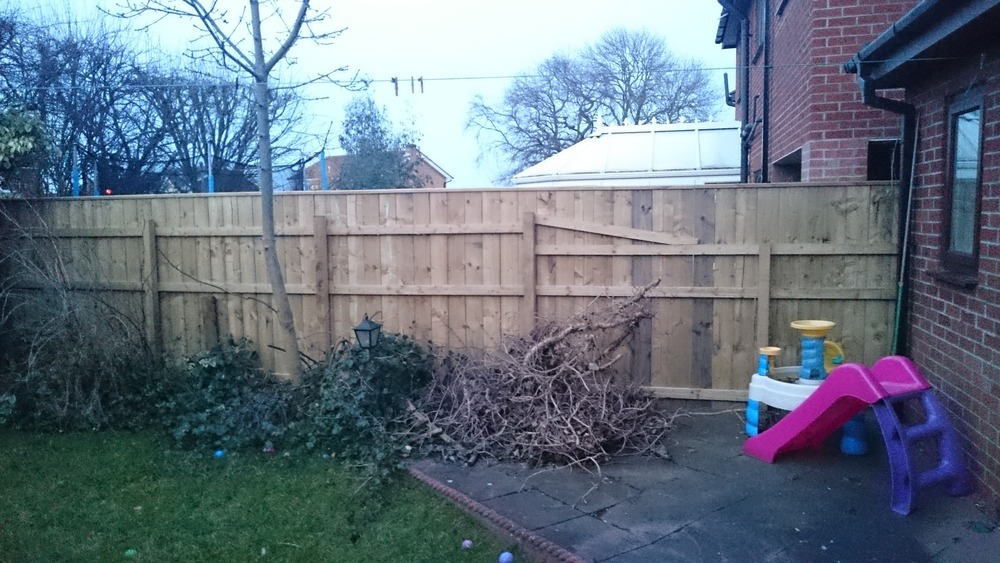 Garden Fence Fencing Job In Stockton On Tees Cleveland