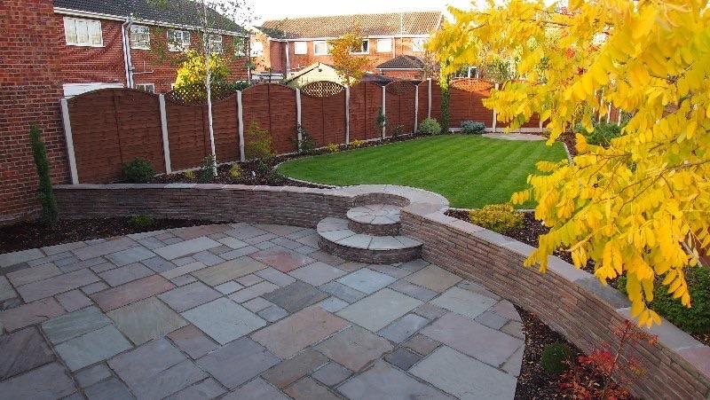 Garden Landscaping Wakefield : Landscape gardener driveway paver extension builder in wakefield