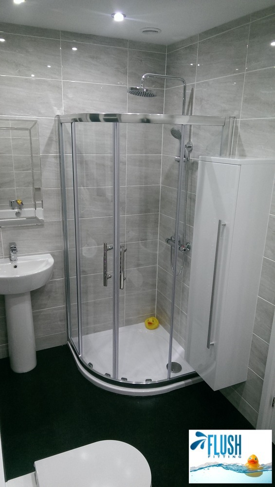 Flush fitting 100 feedback bathroom fitter in birmingham for Bathroom specialists