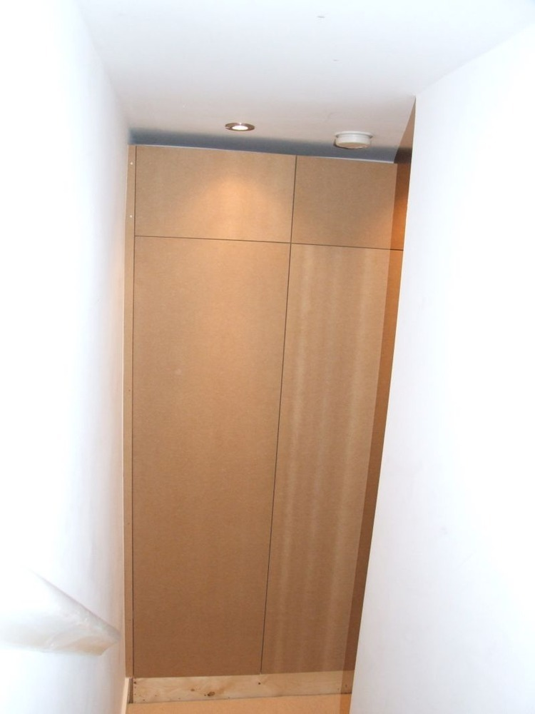 Floating Alcove Cupboard