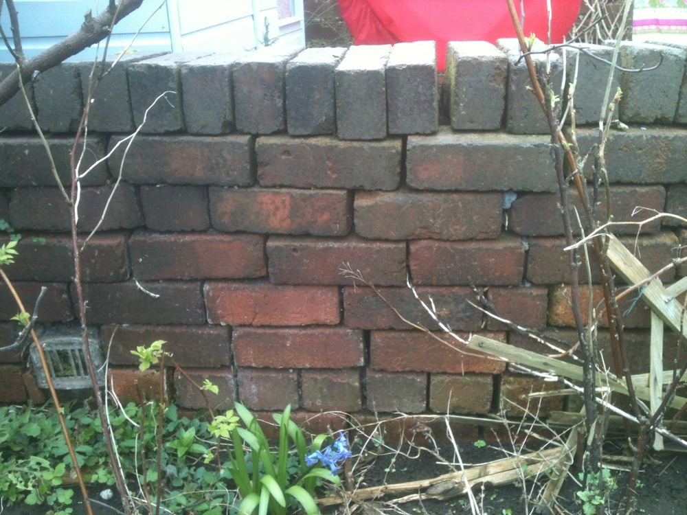 Low Wooden Fence Staxel: Rebuild 19ft Low Brick Wall & Erect Wooden Fence On Top