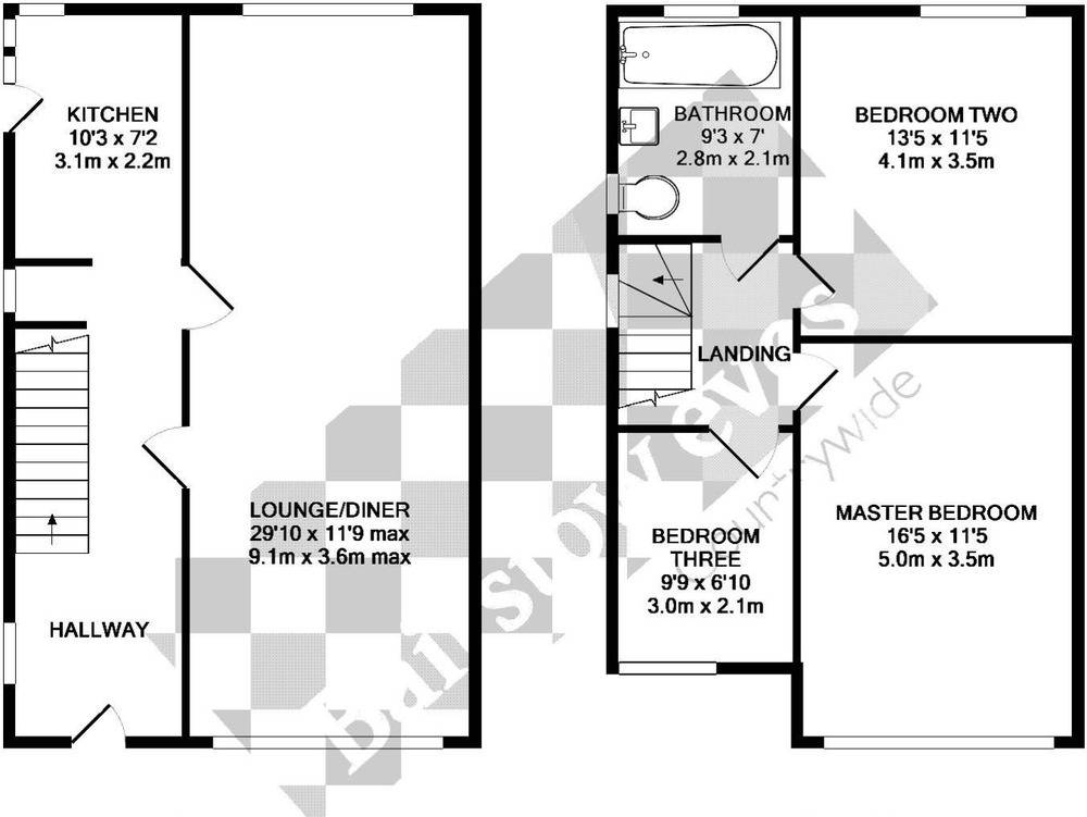 Simple 20 master bedroom extension plans design ideas of for Semi detached floor plans