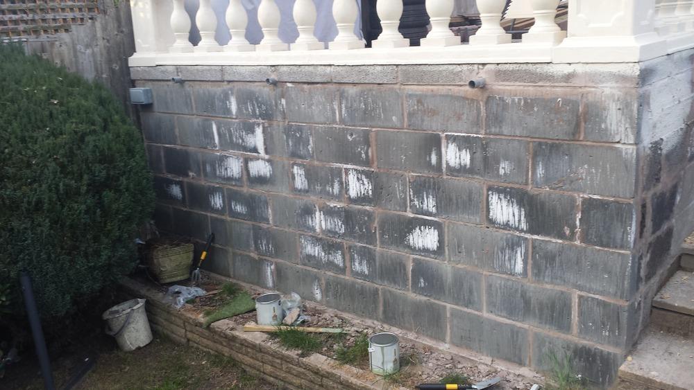 Render Garden Walls Plastering Job In Walsall West