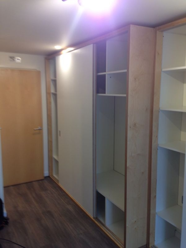 L Shape Built In Wardrobe Quotation End Of May