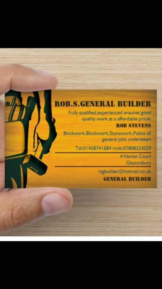 Rob.S.General Builder: 100% Feedback, Bricklayer, Stonemason ...