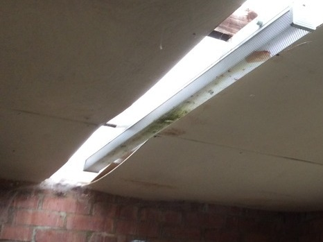 Fix Leaking 1930s Asbestos Garage Roof Roofing Flat
