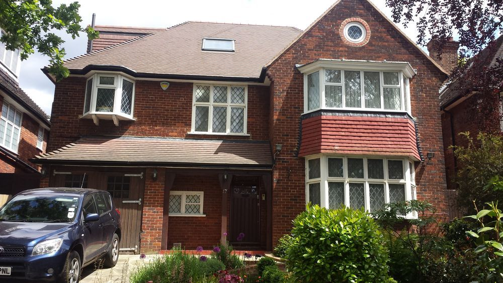 Brick Wall Re-pointing - Repointing job in Hendon, North ...