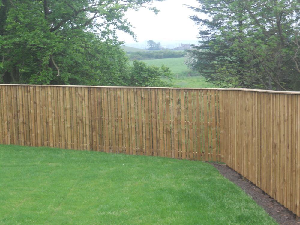 Tcr 100 feedback kitchen fitter conservatory installer for Garden fence designs uk