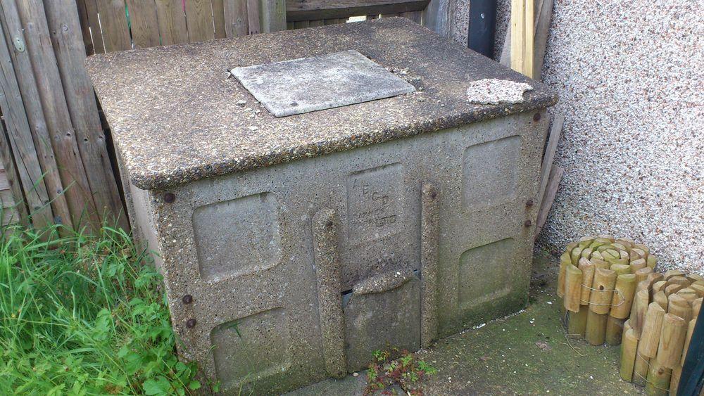 Removal Of Concrete Coal Bunker Demolition Job In