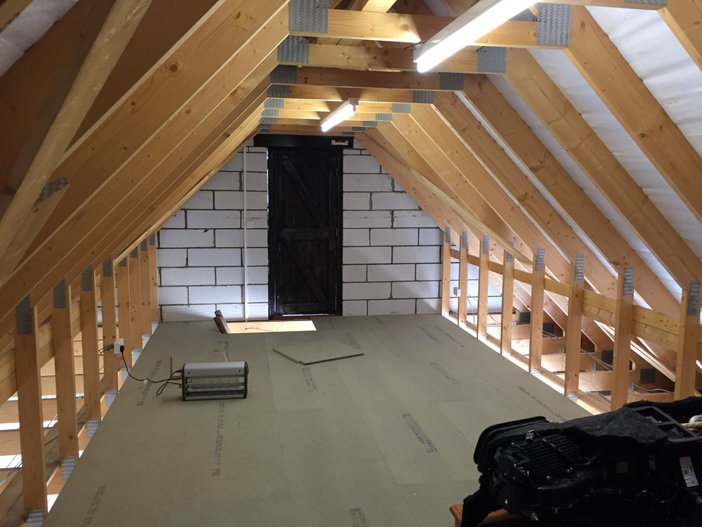 "garage studio loft ideas - Garage ""Attic"" Conversion Loft Conversions job in"