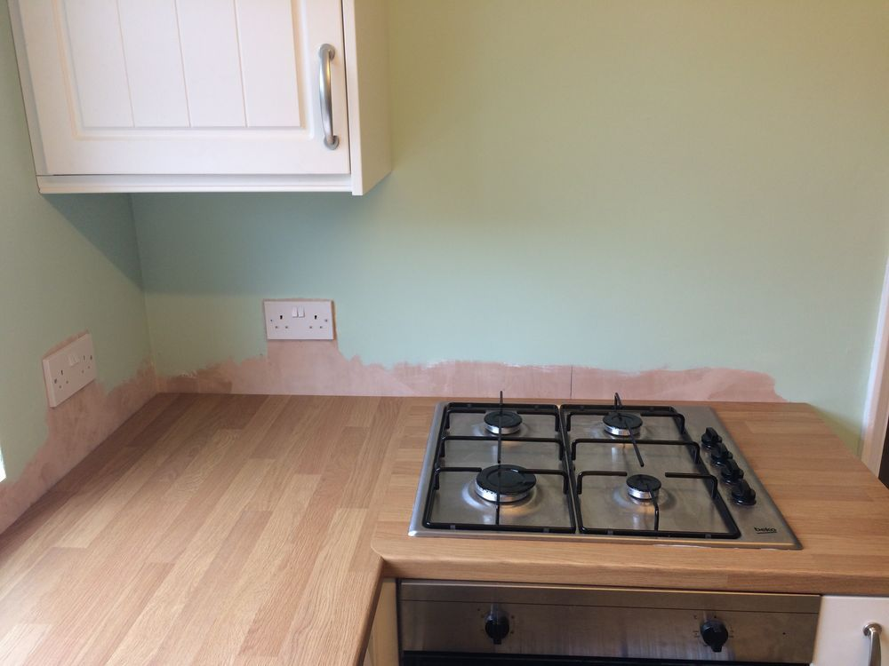 Kitchen Tiles High Wycombe tiling c.4m sq kitchen walls in downley, high wycombe - tiling job