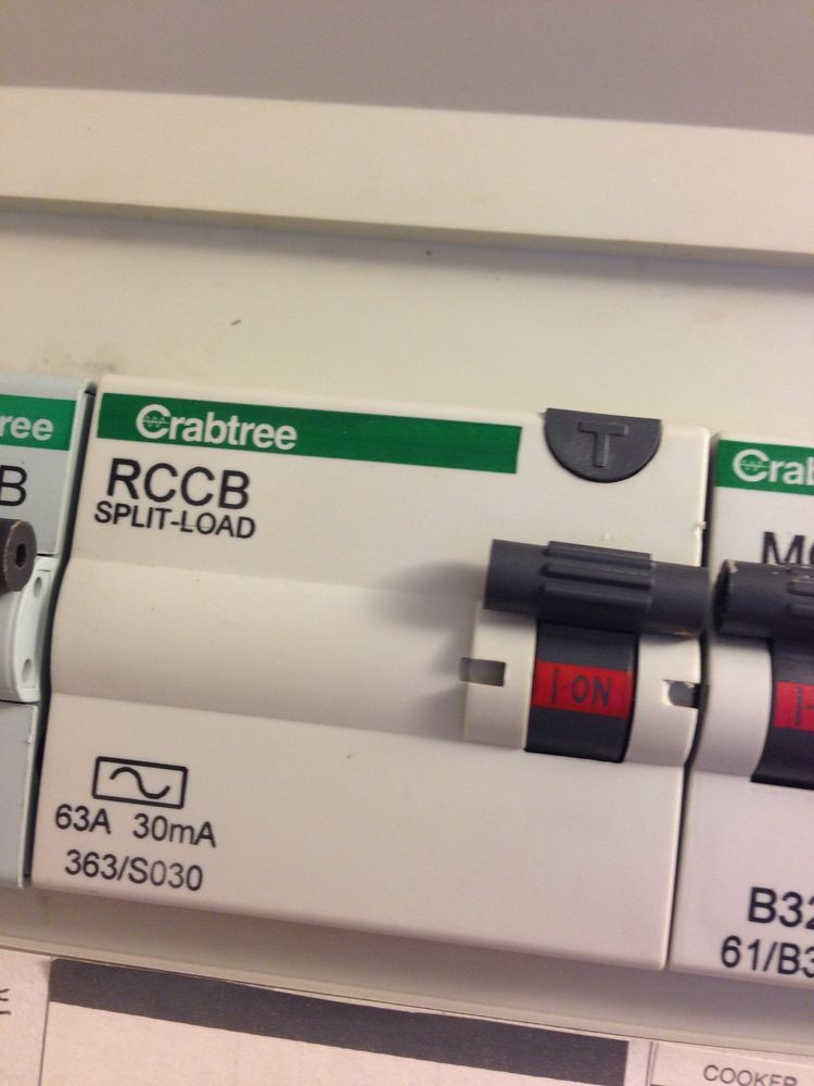 Fuse box/RCD keeps tripping - sockets only - Electrical job in ... on
