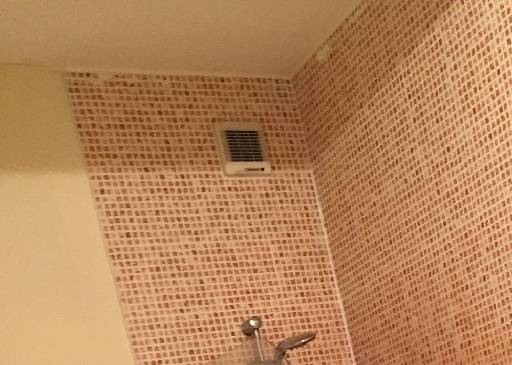 Remove And Replace Bathroom Extractor Fan Electrical Job