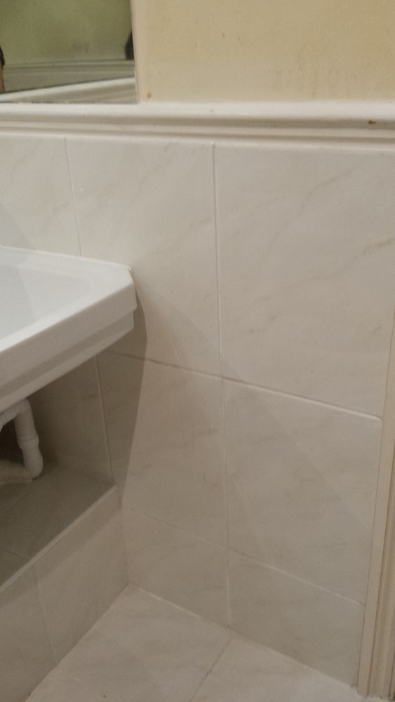 Remove Bathroom Tiles Dado Rail And Plaster Any Holes