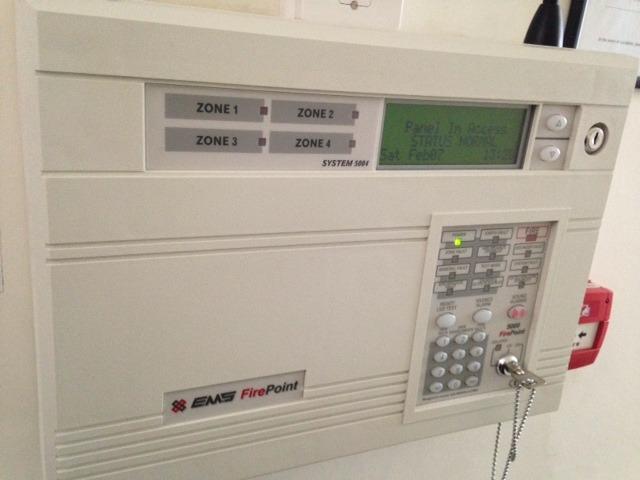 Fire Alarm - EMS Firepoint 5000 Maintenance - Electrical job