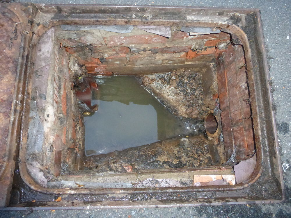 Drain Inspection Chamber Repair Groundwork Amp Foundations