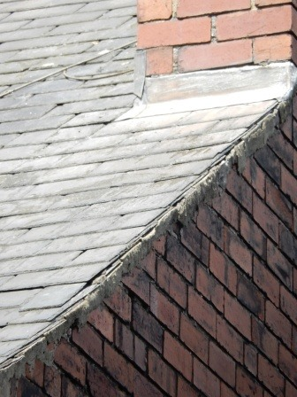 Leaking Slate Roof Repair And Verge Repoint Roofing