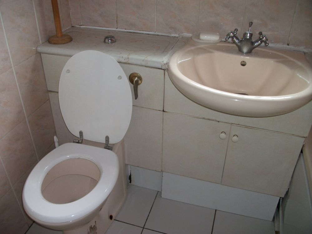 Replace Existing W C Wh Basin And Cabinet And Replace