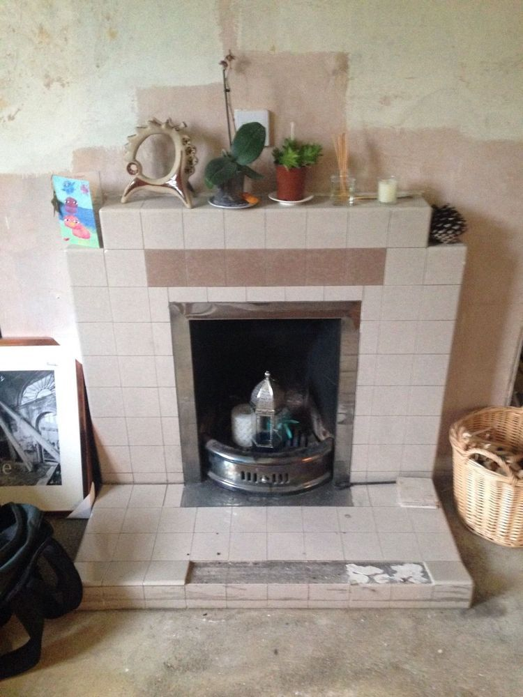 Fireplace Removal 1930 S Tiled Fireplaces Amp Flues Job In