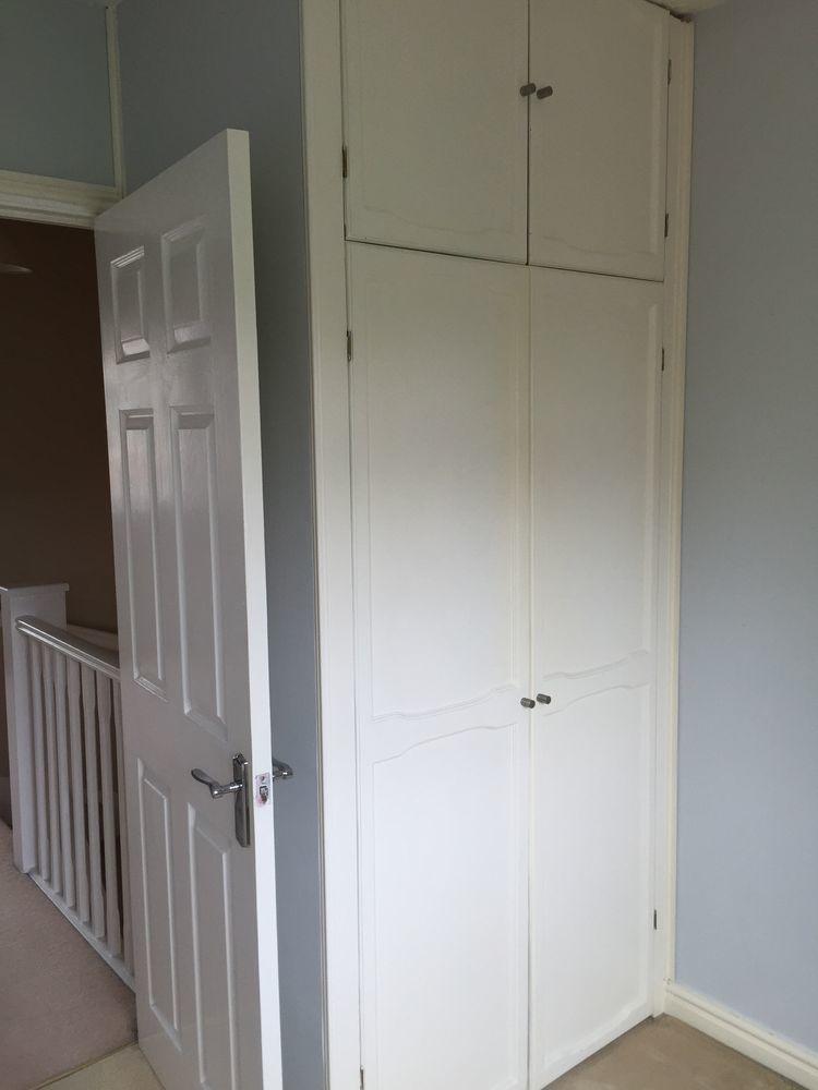 Rebuild A Bedroom Wardrobe On Stair Box 110cm X 75cm