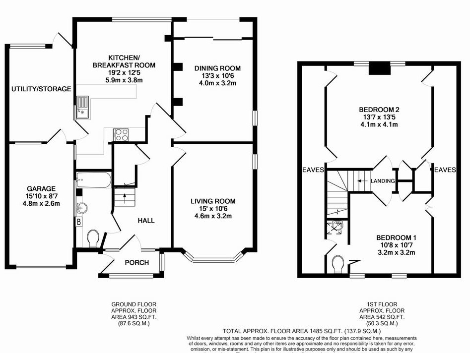 bungalow extension  existing 2 bed extend to 4 bed
