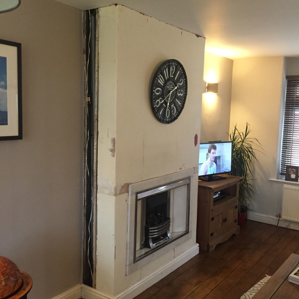 gas fire removal fit wood burner and finish chimney chimneys