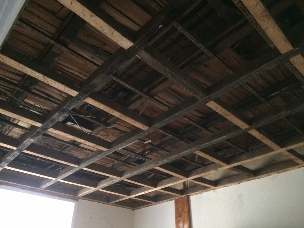 Lath Amp Plaster Ceiling Collapse New Plasterboard Ceil