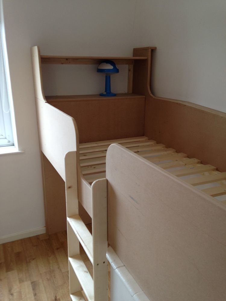 Bed Over Stair Box With Storage And Stairs: AJ Hudd Carpentry: 100% Feedback, Carpenter & Joiner