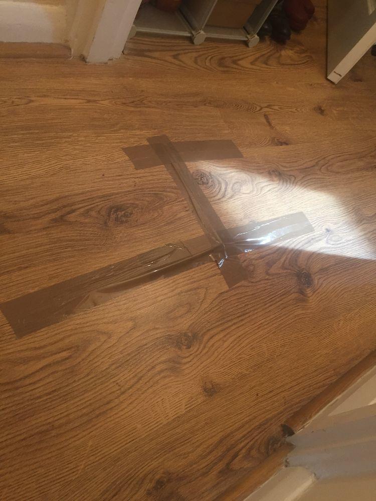 Laminate Floor Peaking Flooring Job In Camberwell South London