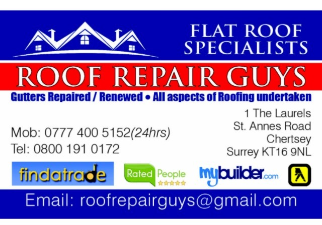 Roof Repairs Guys 100 Feedback Pitched Roofer Flat