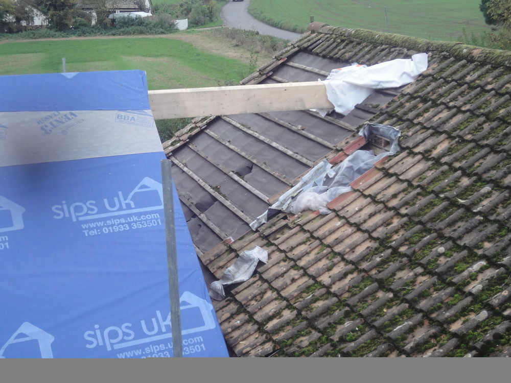 Tying New Roof Into Existing Bungalow Roof Roofing