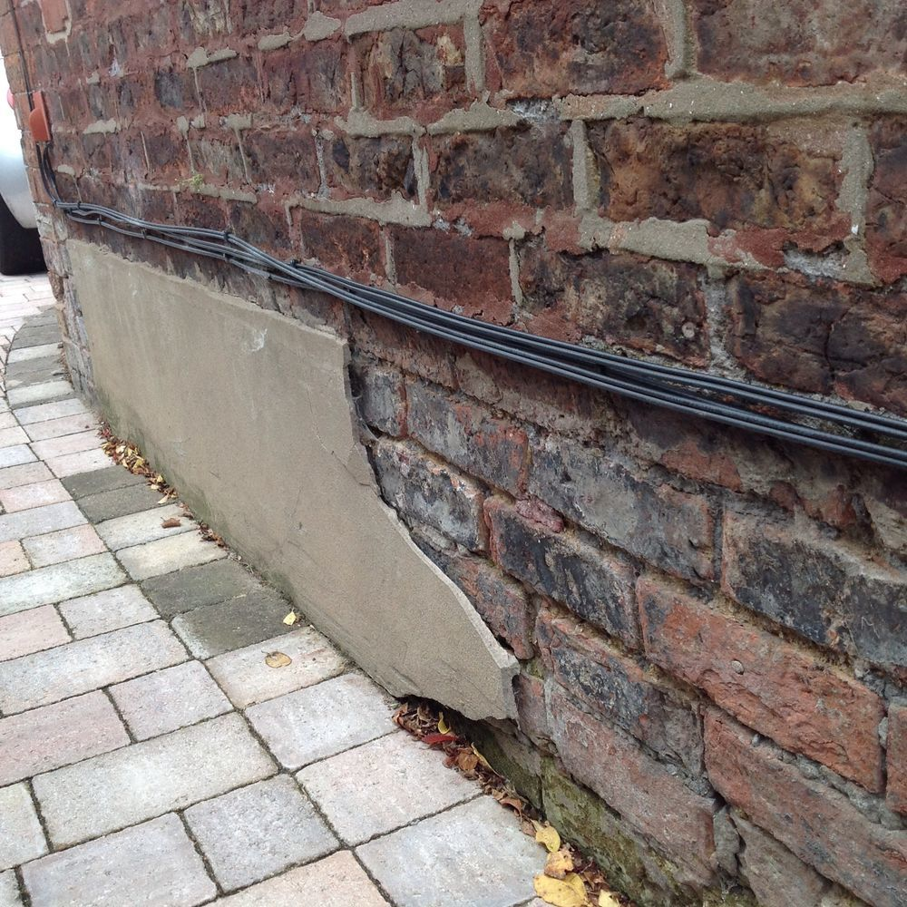 External Damp On Outside Wall Plus Some Brickwork Damp Proofing Job In Sale Cheshire Mybuilder