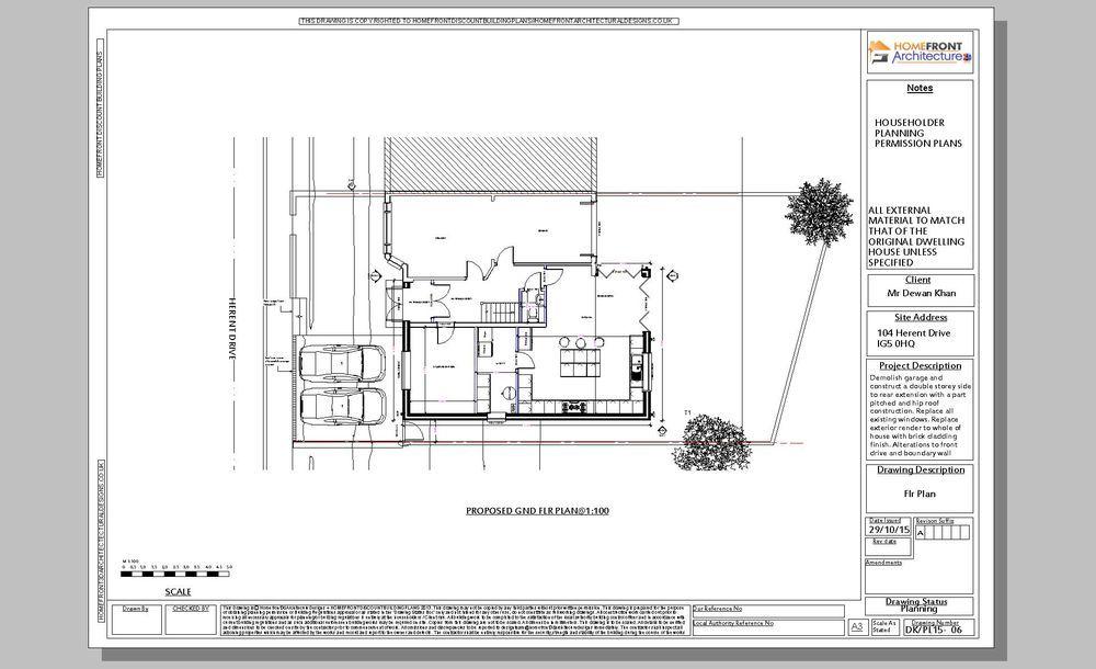 Homefront Architecture Ltd 100 Feedback Architectural Designer In Stratford